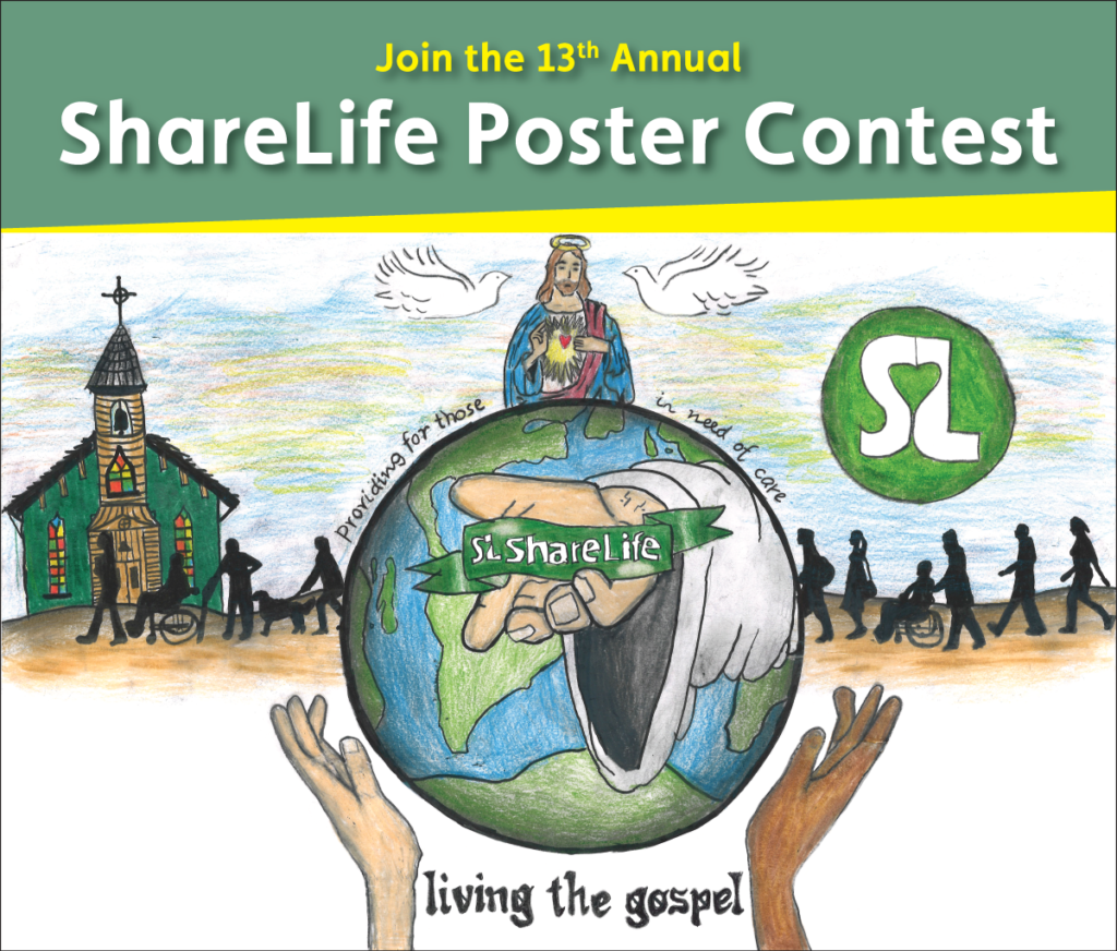 Join the 13th Annual ShareLife Poster Contest
